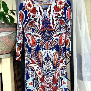 Haani Long Sleeved Vibrant Fun Dress Large